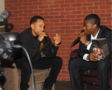 Interviewing Hill Harper