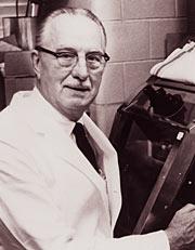 Researcher George Gey